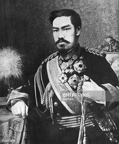 Mutsuhito of Meiji family Emperor of Japan 18671912 His reign initiated the end of the Shogunate returning power to the Emperor