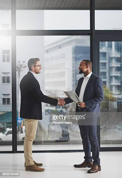 Mutual respect goes a long way in business
