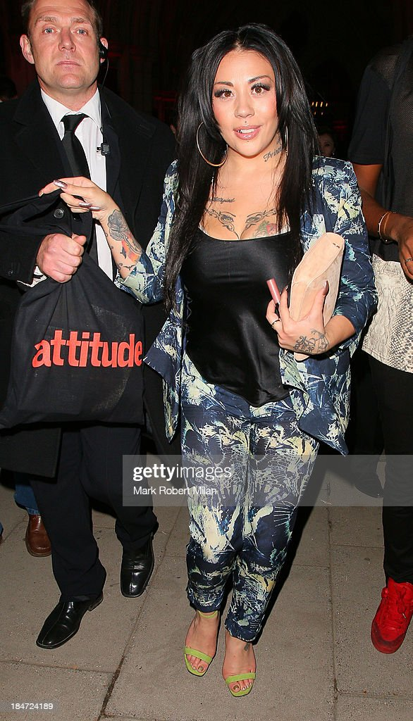 <a gi-track='captionPersonalityLinkClicked' href=/galleries/search?phrase=Mutya+Buena&family=editorial&specificpeople=206601 ng-click='$event.stopPropagation()'>Mutya Buena</a> attending the Attitude Magazine Awards on October 15, 2013 in London, England.