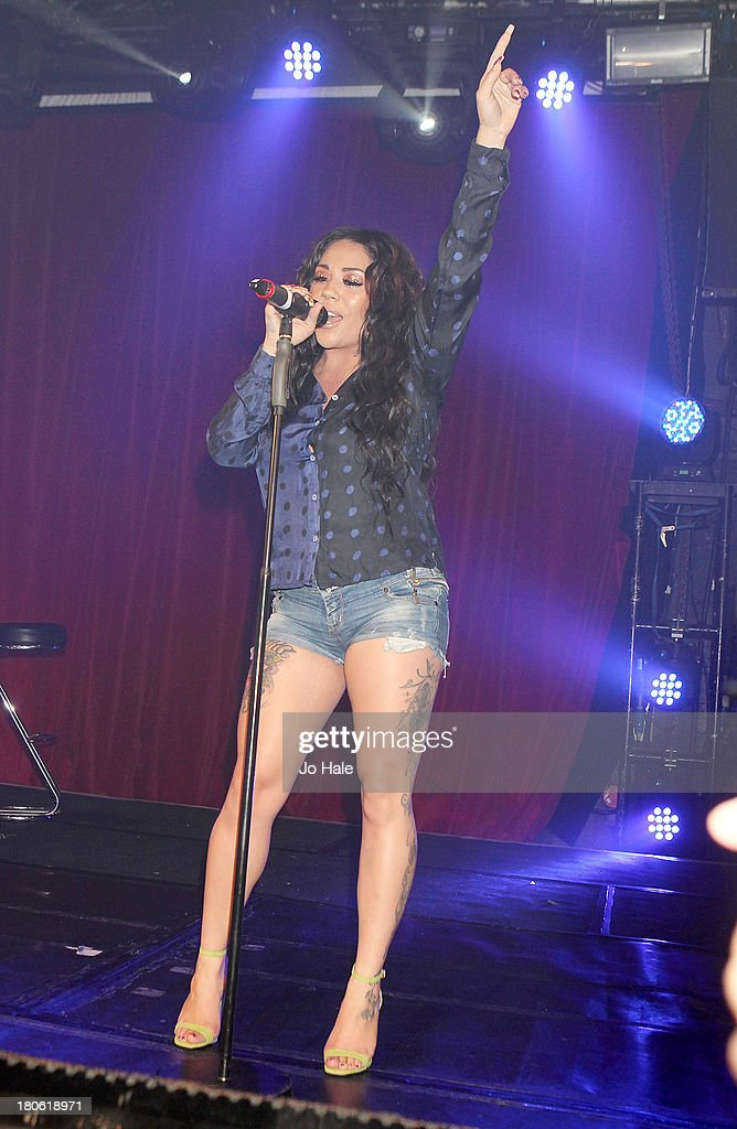 Mutyna Buena performs on stage at G-A-Y on September 14, 2013 in London, England.