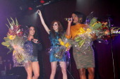 Mutyna Buena Siobhan Donaghy and Keisha Buchanan perform on stage at GAY on September 14 2013 in London England