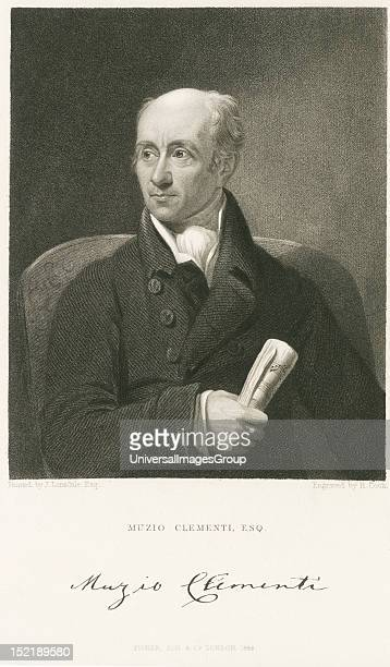 Muzio Clementi was a celebrated composer pianist pedagogue conductor music publisher editor and piano manufacturer