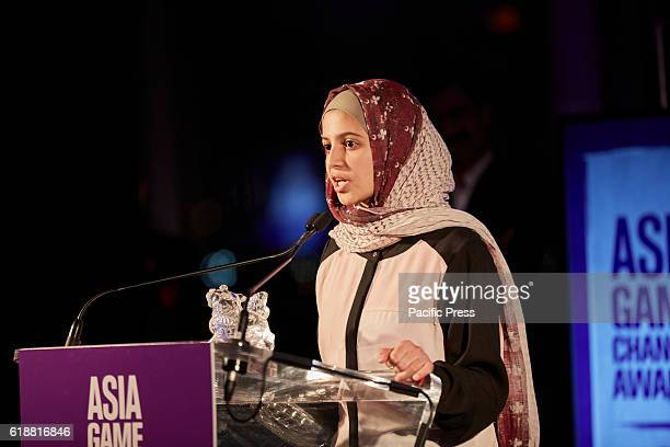 Muzoon Almellehan for bringing education and hope to young girls amid the trauma of war Awarded during the 2016 Asia Game Changers held at the United...