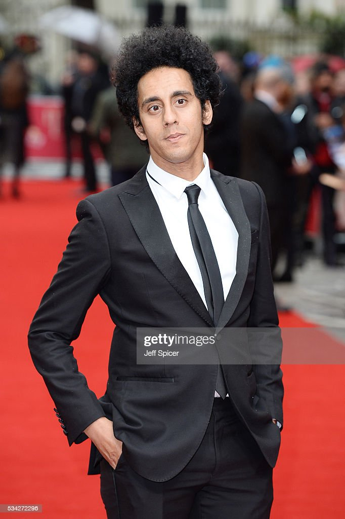 Muzz Khan attends the European film premiere 'Me Before You' at The Curzon Mayfair on May 25, 2016 in London, England.