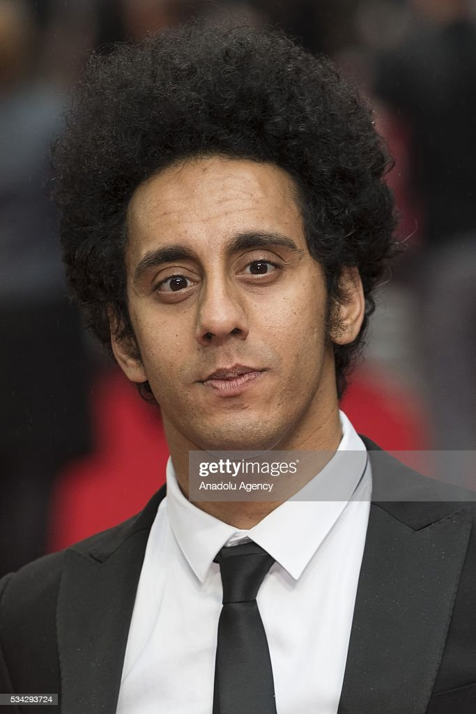 Muzz Khan attends the film premiere of Me Before You in London, United Kingdom on May 25, 2016.