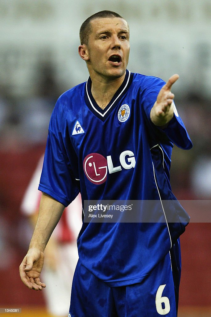 Muzzy Izzet of Leicester City during the Nationwide First Division match between Stoke City and Leicester City at the Brittania Stadium in Stoke on 14 August, 2002.