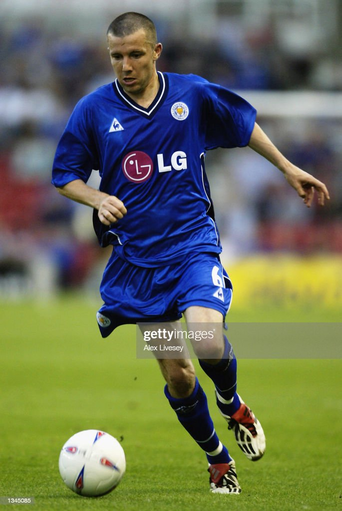 Muzzy Izzet of Leicester City in action during the Nationwide First Division match between Stoke City and Leicester City at the Brittania Stadium in Stoke on 14 August, 2002.