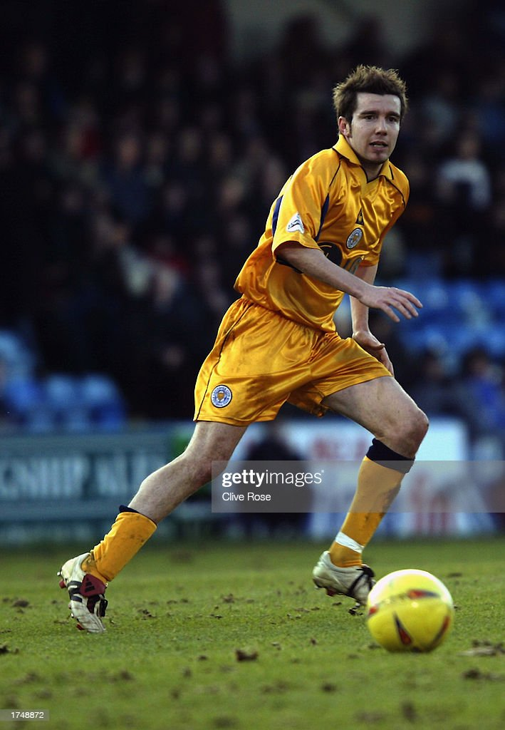 Muzzy Izzet of Leicester City in action during the Nationwide League Division One match between Gillingham and Leicester City held on January 18, 2003 at the Priestfield Stadium, in Gillingham, England. Gillingham won the match 3-2.