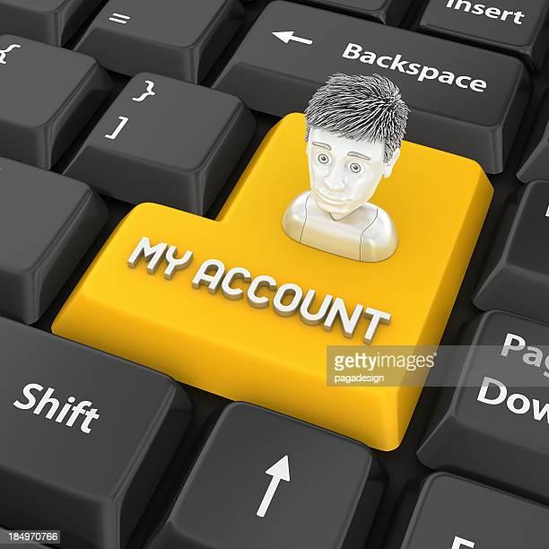 my account enter key