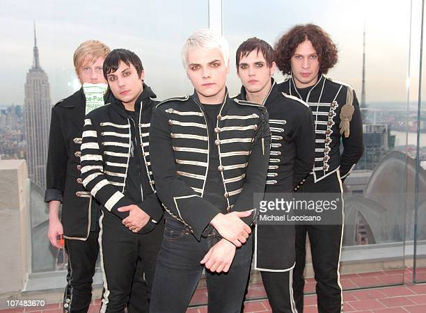 My Chemical Romance during 2006 MTV Video Music Awards PreShow at Radio City Music Hall in New York City New York United States