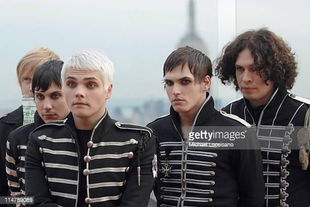 My Chemical Romance during 2006 MTV Video Music Awards – PreShow at Radio City Music Hall in New York City New York United States