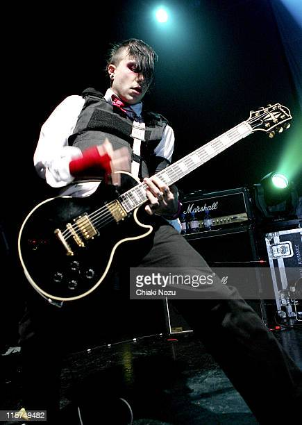 My Chemical Romance during My Chemical Romance in Concert April 9 2005 at Astoria in London Great Britain