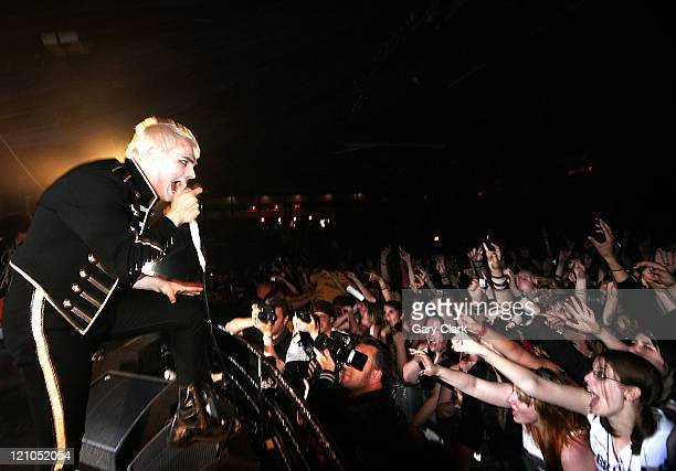 My Chemical Romance during My Chemical Romance in Concert at Hammersmith Palais August 22 2006 at Hammersmith Palais in London Great Britain