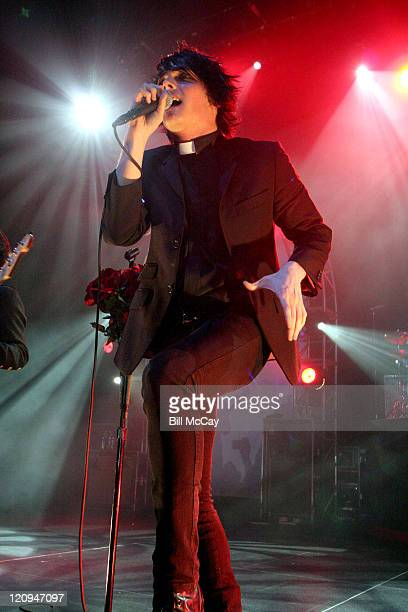 My Chemical Romance during My Chemical Romance in Concert at the Tweeter Center in Camden October 14 2005 at Tweeter Center in Camden New Jersey...