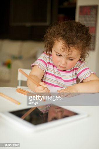 my choice is drawing : Stock Photo