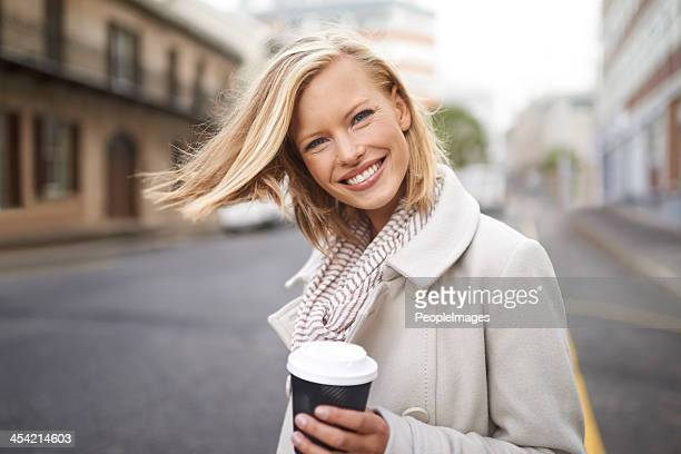 My commute is always easier with coffee