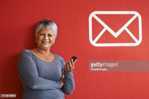 My email address is…