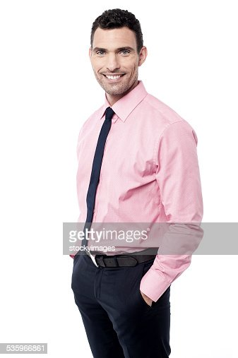 My first day at office ! : Stock Photo
