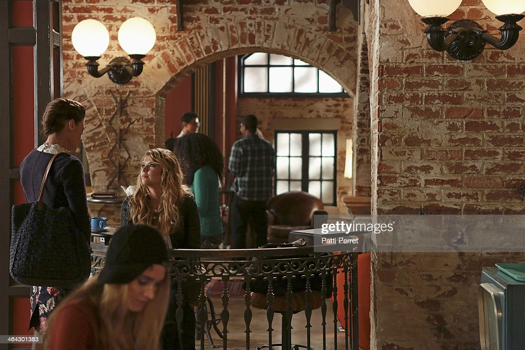 RAVENSWOOD - 'My Haunted Heart' - Caleb is thrown when his Rosewood ex Hanna shows up in Ravenswood, in 'My Haunted Heart,' the winter finale episode of ABC Family's original series, 'Ravenswood,' airing Tuesday, February 4th (9:00 - 10:00 PM ET/PT). BENSON