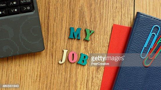 My job : Stock Photo