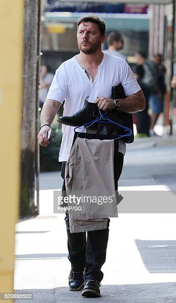My Kitchen Rules judge Manu Feildel is seen on April 9 2016 in Sydney Australia