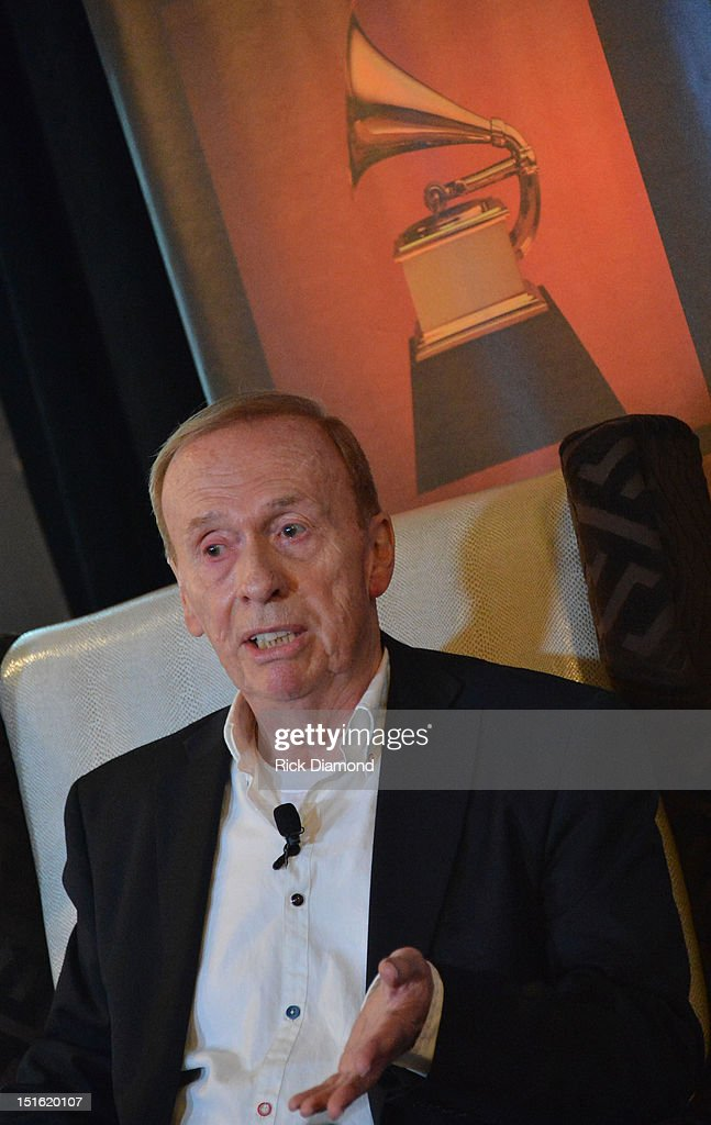 My Life Recording the Music of the Beatles, 4-time Grammy award recipient Geoff Emerick, Audio Engineers attends GRAMMY GPS - A Road Map For Today's Music Pro at W Atlanta Buckhead on September 8, 2012 in Atlanta, Georgia.