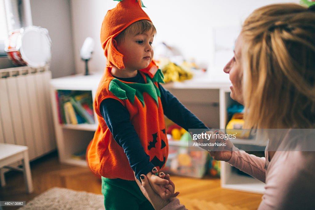My little pumpkin : Stock Photo