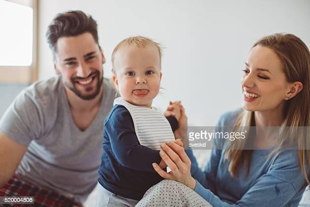 me e i miei genitori