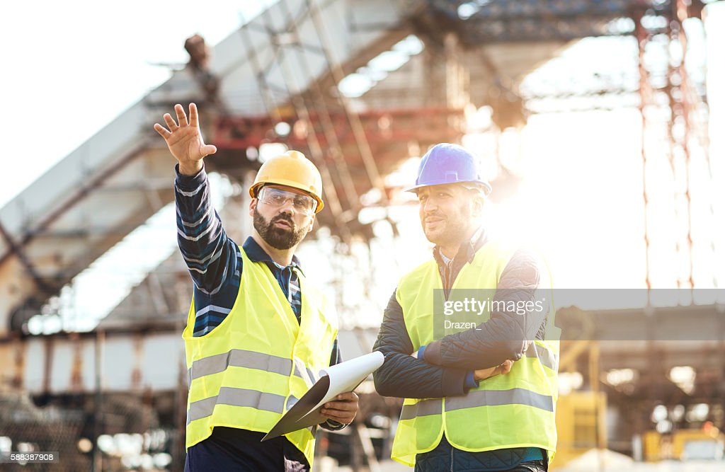 My proposal for next construction phase is the following... : Stock Photo