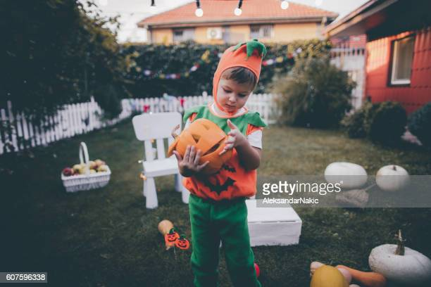 My scary pumpkin