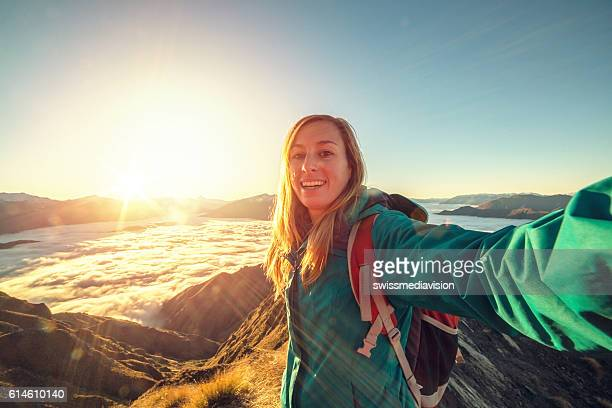 My selfie on top of the world