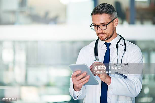 My tablet allows me to better diagnose and treat patients