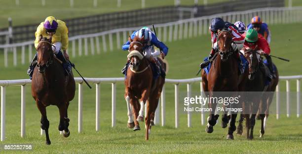 My Titania ridden by Declan McDonagh wins The CL Weld Park Stakes during the Juddmonte Beresford Stakes Day at Curragh Racecourse Curragh