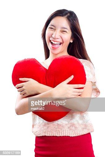 Meu coração Valentines' : Foto de stock