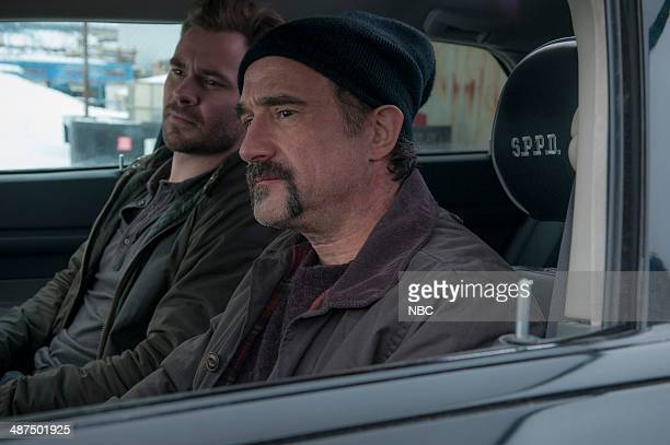 D 'My Way' Episode 112 Pictured Patrick Flueger as Adam Ruzek Elias Koteas as Alvin Olinsky