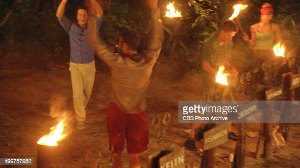'My Wheels Are Spinning' Stephen Fishbach celebrates during the eleventh episode of SURVIVOR Wednesday Nov 25 The new season in Cambodia themed...