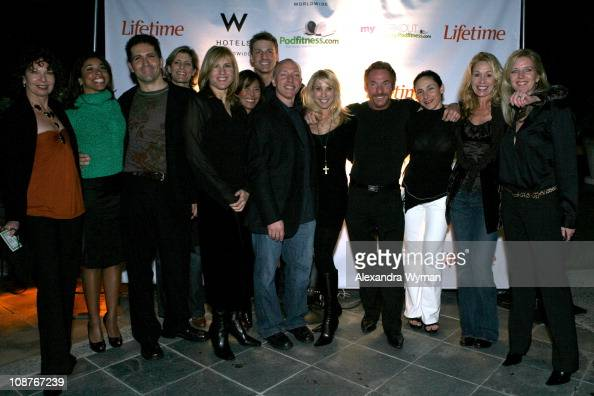 Yumi Lee During Lifetime Television The W Hotels And Podfitnesscom Present Tv Launch Party For