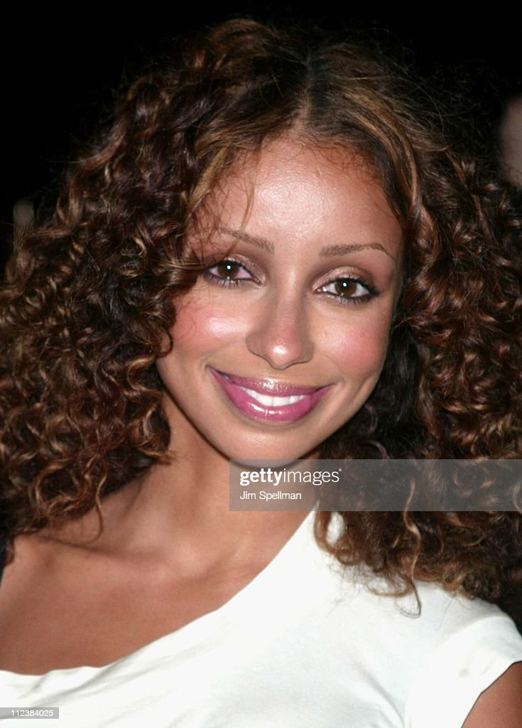Mya during Mercedes Benz Fashion Week 2003 - Opening of the First Stella McCartney Store Worldwide at Stella McCartney Store in New York, New York, United States.