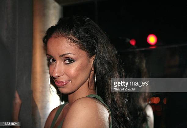 Mya during Swizz Beatz and Mya at Suite April 29 2007 at Suite in New York City New York United States