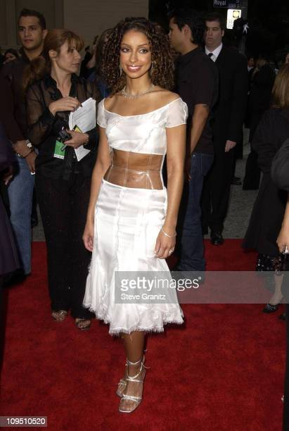 Mya during The 2002 ALMA Awards Arrivals at The Shrine Auditorium in Los Angeles California United States