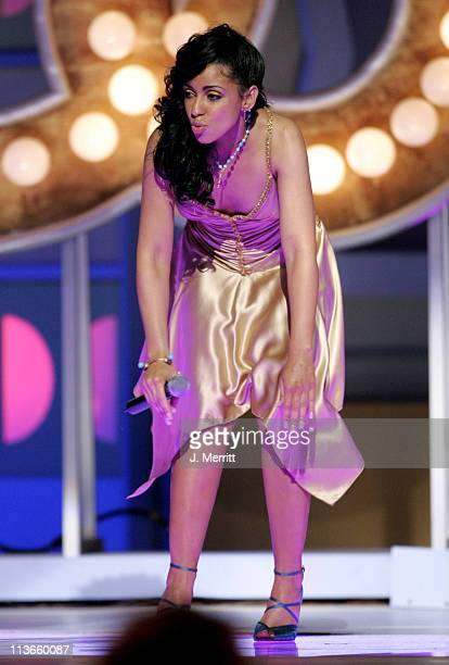 Mya performs 'Last Dance' in tribute to Don Cornelius and 'Soul Train' winner of the Discretionary Award Pop Culture