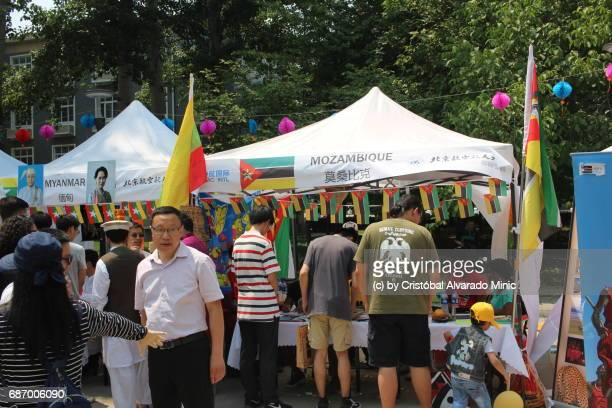 Myanmar And Mozambique Exhibition Stands, Beijing