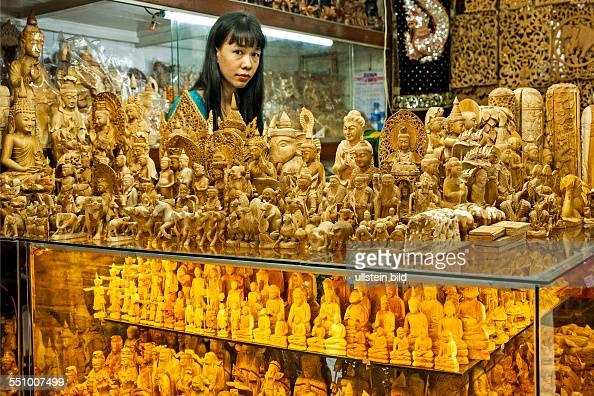 MMR Myanmar Burma Birma Yangoon Aufnahmedatum2013 Asien Reise Reiseziel Bogyoke Aung San Market bekannt unter dem Namen Scott Market Verkauf...