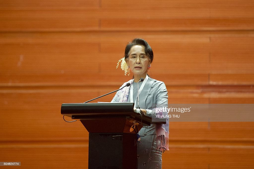speech comparing aung san suu kyi Pope francis on tuesday is spending his first full day in myanmar where he traveled to the country's capital to meet with the country's de facto civilian leader, nobel laureate aung san suu kyi.