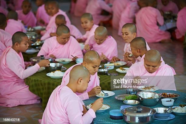 Myanmar (Burma), Yangon (Rangoon), nun lunch