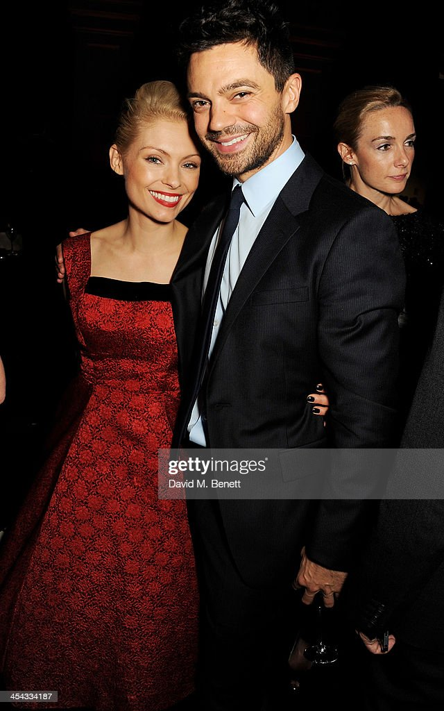 MyAnna Buring (L) and Dominic Cooper attend an after party following the Moet British Independent Film Awards 2013 at Old Billingsgate Market on December 8, 2013 in London, England.