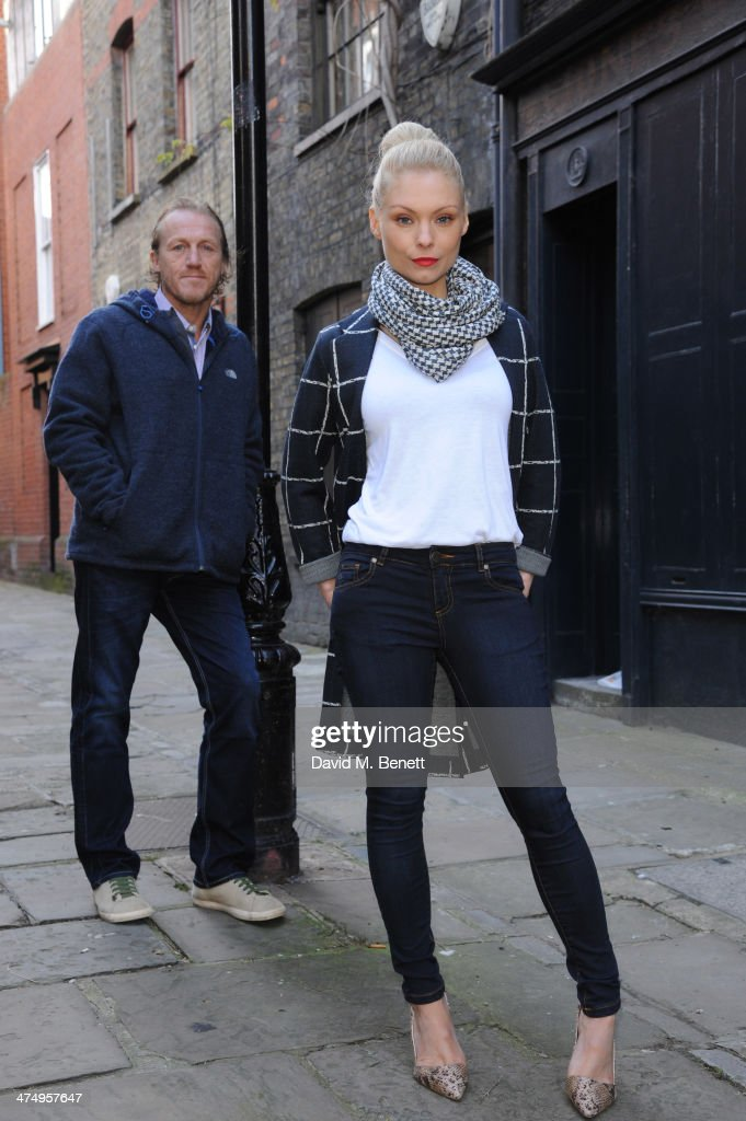 <a gi-track='captionPersonalityLinkClicked' href=/galleries/search?phrase=MyAnna+Buring&family=editorial&specificpeople=810502 ng-click='$event.stopPropagation()'>MyAnna Buring</a> and Jerome Flynn pose for the launch of drama 'Ripper Street' on Amazon Prime Instant Video, on February 26, 2014 in London, England.