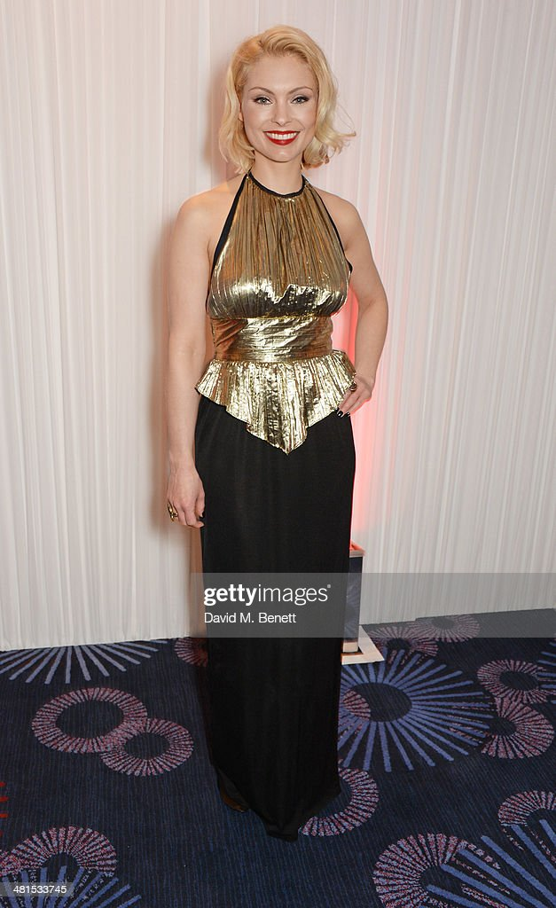 MyAnna Buring arrives at the Jameson Empire Awards 2014 at The Grosvenor House Hotel on March 30, 2014 in London, England.