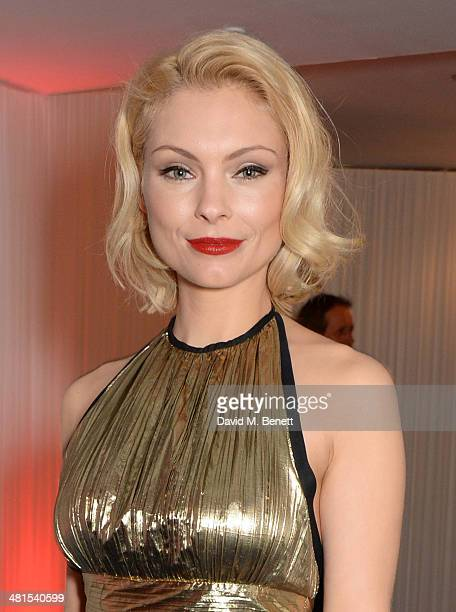 MyAnna Buring arrives at the Jameson Empire Awards 2014 at The Grosvenor House Hotel on March 30 2014 in London England