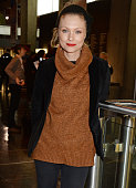 MyAnna Buring attends a screening of 'Lost In Karastan' during the 4th annual LOCO London Comedy Film Festival at BFI Southbank on January 22 2015 in...